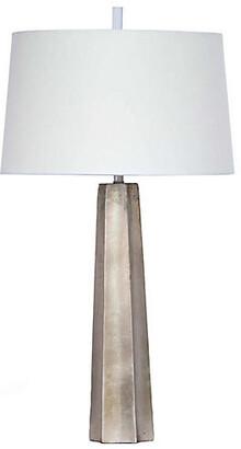 REGINA ANDREW Celine Table Lamp - Ambered Silver Leaf