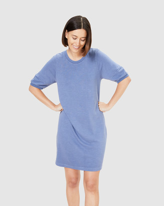 French Connection Women's Dresses - Puff Sleeve Sweat Dress - Size One Size, L at The Iconic