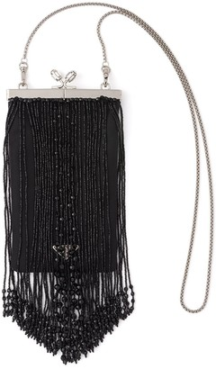 Prada Beaded Fringe Clutch