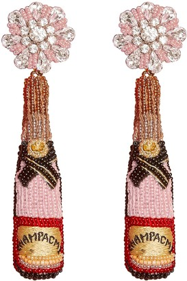 Mignonne Gavigan Rose Bottle Drop Earrings