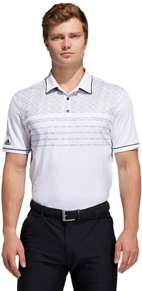 adidas Men's Core Modern-Fit Novelty Golf Polo