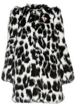 Marc Jacobs Embellished Leopard-print Faux Fur Coat - Leopard print