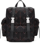 Valentino Garavani Valentino Black Love Blade Rockstud Backpack
