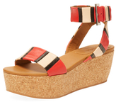 See by Chloe Ankle-Wrap Platform Sandal