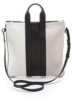 Tricolor Slim Tote Bag