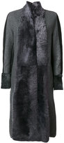Lorena Antoniazzi panelled coat