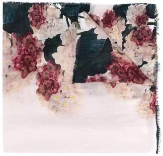 Faliero Sarti Embroidered Floral Scarf