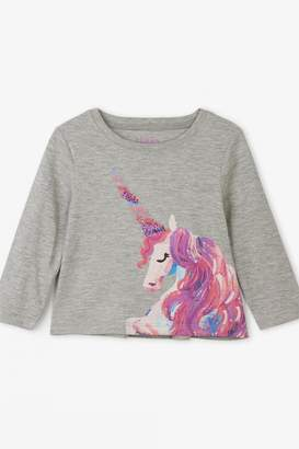 Hatley Enchanted Unicorn Long Sleeve Tee