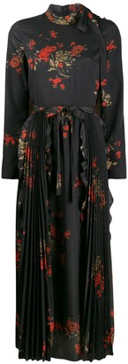 RED Valentino RED(V) floral print long dress