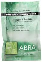 Abra Muscle Therapy (Eucalyptus + Rosemary) Bath Salts by 3oz Powder)
