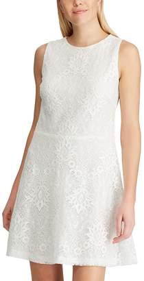 Chaps Women's Fit & Flare Sleeveless Dress