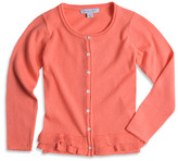 Pumpkin Patch Frill Hem Plain Cardigan