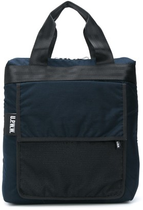 U.P.W.W. Canvas Trim Twill Tote