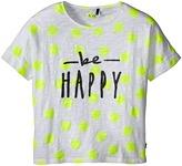 Ikks Be Happy Star Print Tee (Little Kids/Big Kids)