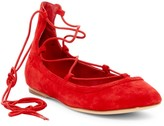 Joie Jenessa Lace-Up Ballet Flat