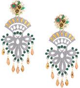Mercedes Salazar chandelier earrings