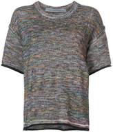 Raquel Allegra space-dye knitted top