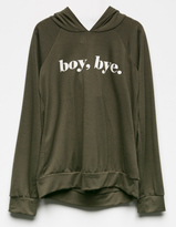 Hip Boy Bye Girls Lightweight Hoodie
