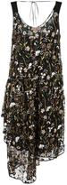 No.21 floral embellished dress - women - Silk/Polyamide/Acetate - 44