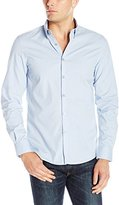 Kenneth Cole Reaction Men's Ls Med Prt Bdc Slm