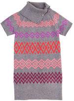 Petit Lem Girls 2-6x Bohemian Princess Sweater Knit Dress