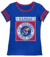 NCAA Kansas Jayhawks Girls Foil T-Shirt