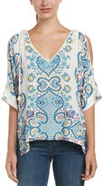 Ella Moss Tie-Shoulder Tunic