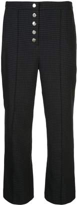Opening Ceremony cropped straight-leg trousers