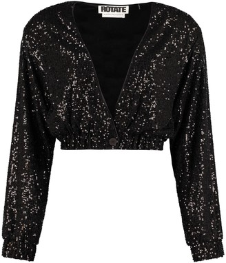 Rotate by Birger Christensen Judy Sequin Jacket