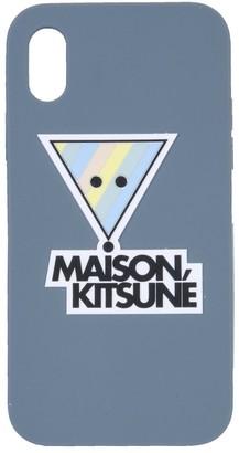 MAISON KITSUNÉ 3D Rainbow Triangle Fox iPhone X Cover