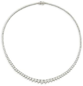 Effy 14K White Gold & Diamond Necklace