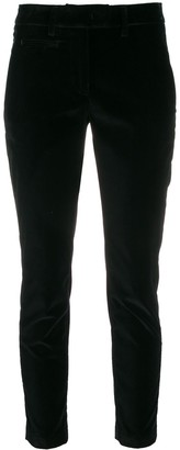 Dondup Cropped Slim-Fit Trousers