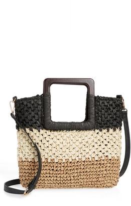 Nordstrom Small Straw Crossbody Bag