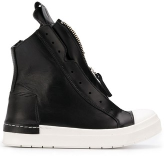 Cinzia Araia Zipped High Top Sneakers