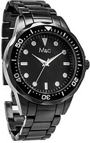 MC M&c Ferretti Men's | Gunmetal Tachymeter Dial Watch | FT14901