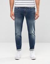 Replay Jeans Hyperflex Anbass Slim Fit Comfort Ultra Stretch Dark Wash