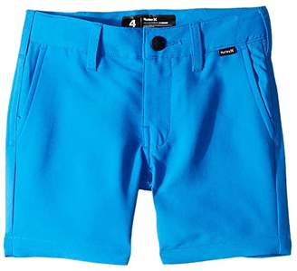 Hurley Dri-FITtm Chino Walkshorts (Little Kids) (Fountain Blue) Boy's Shorts