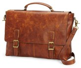 Frye Men's 'Logan' Leather Briefcase - Brown