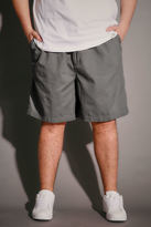 Yours Clothing Light Khaki Chino Shorts With Elasticated Waist Band