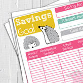 Alexia Claire Printable 15 Page Finance Planner