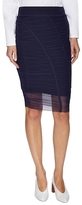 Opening Ceremony Ruched Mesh Pencil Skirt