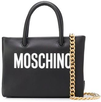 Moschino mini Logo Shopper bag
