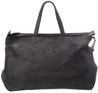 Balenciaga Aj Leather Weekender