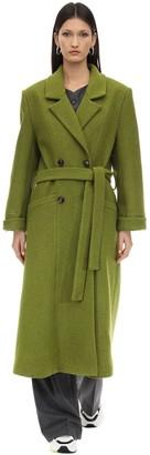 Lesyanebo Oversized Wool Blend Coat