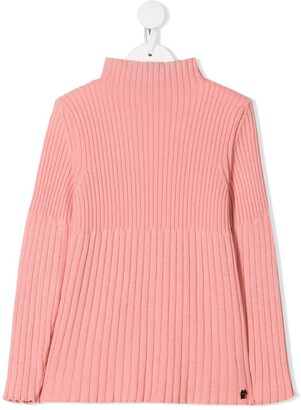 Simonetta Ribbed Roll Neck Jumper