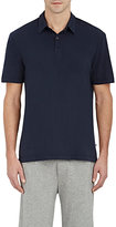 James Perse Men's Jersey Polo Shirt-NAVY