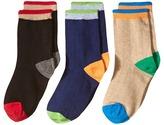 Jefferies Socks Wide Rib Crew Socks 3-Pair Pack Boys Shoes