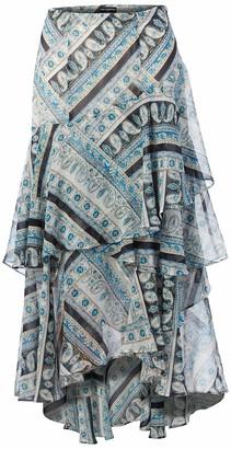Karl Lagerfeld Paris Women's Lace Burnout Skirt