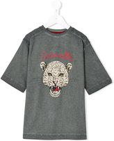 Roberto Cavalli leopard motif t-shirt