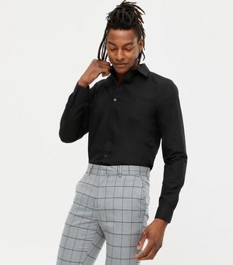 New Look Long Sleeve Button Up Poplin Shirt